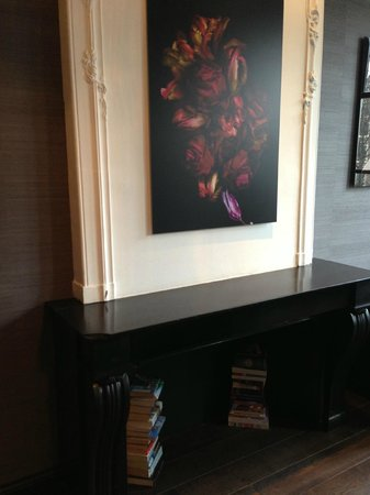 Canal House: Fireplace