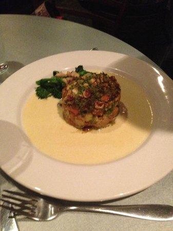 Cafe Paradiso: Leek and roast squash gratin