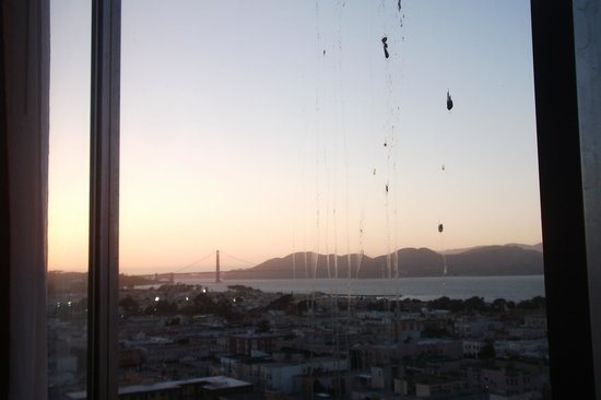 Comfort Inn by the Bay: perfect view of golden gate bridge