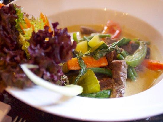 Thai Pad: thai green curry