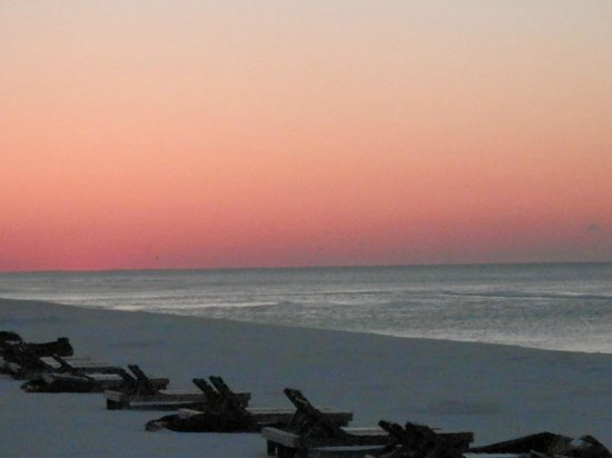 Days Inn Pensacola Beachfront: Looking out to the Gulf