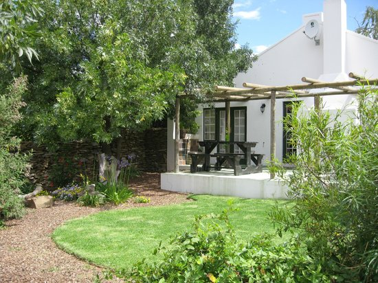 Cape Cottages McGregor: Willow - cottage view from private, exclusive use gardengarden