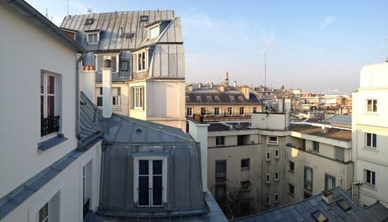 Hotel Montfleuri: vue arrière