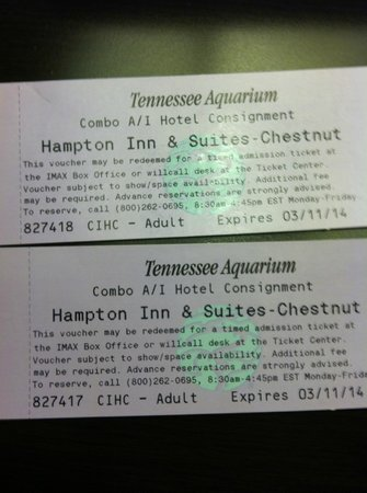 "Hampton Inn & Suites Chattanooga / Downtown: Rip OFF ""Getaway Package"" DON'T BUY!"