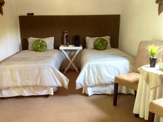 Mbokoto Country Lodge & Spa: twin bedroom