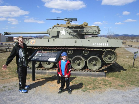 U.S. Army Heritage and Education Center : Tank