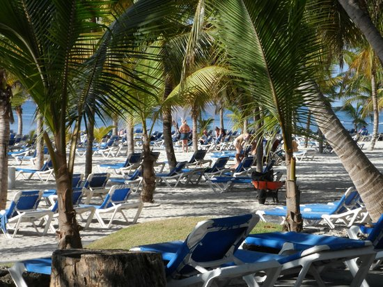 Coral Costa Caribe Resort & Spa: plage