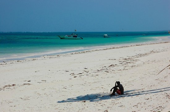 Diani Blue: The breathtaking Beach in front of Asha...