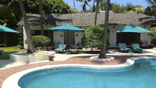 Diani Blue : The front of my room....