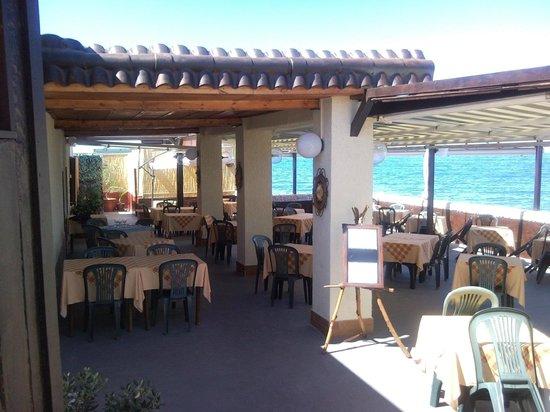 Santo Spirito, Italie : ingresso ristorante