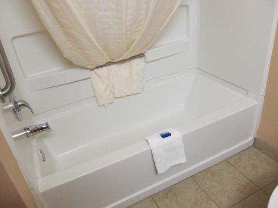 BEST WESTERN Smithfield Inn: Clean bathroom