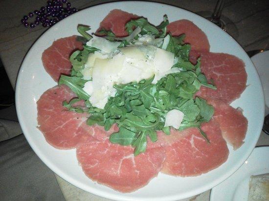 Cassariano Italian Eatery: Carpaccio