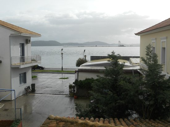 The Captain's House: View from principal suite to marina