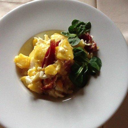 Restaurante Tapas Jesus Carrion: Huevos estrellados