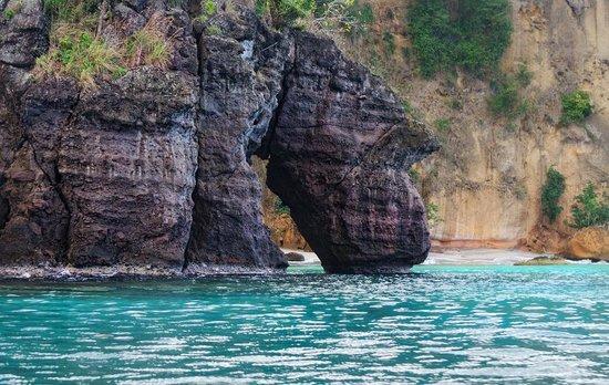 Arch at Secret Bay