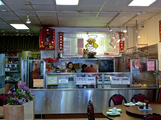 Cheung Hing: Main counter of the restaurant.
