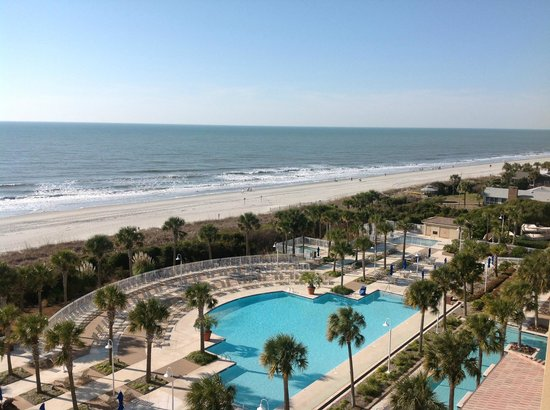 Myrtle Beach Marriott Resort & Spa at Grande Dunes: View from my room