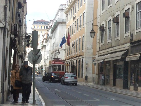Yes! Lisbon Hostel: Localização do Yes, Hostel