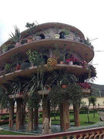 Tocancipa, Colombia: jardines colgantes de babilonia