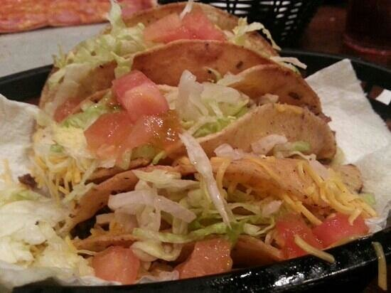 Savanna, IL: Tacos at Manny's. Yes, it's greasy. We know it. Get three and enjoy every bite.