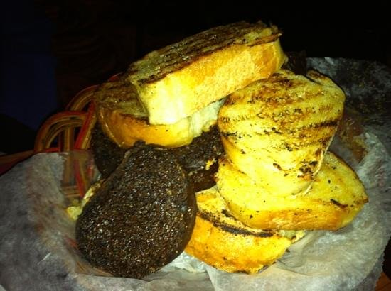 Mancini's Char House: charred bread basket