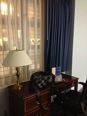 New York Presbyterian Guest Facility: Room 1124 desk