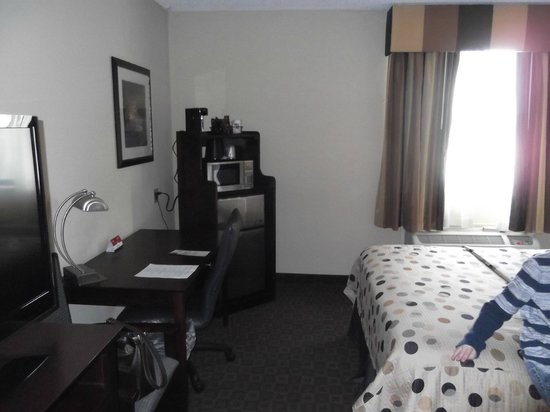Quality Inn & Suites Peoria : our room