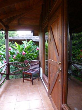 Hotel Arenal Montechiari: porch Room 28
