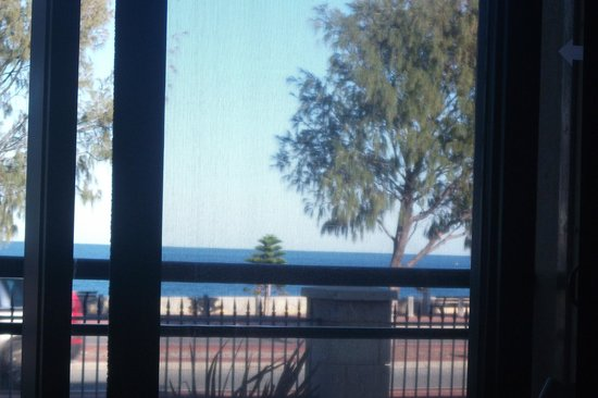 Quality Resort Sorrento Beach: this was the lovely view I woke up to