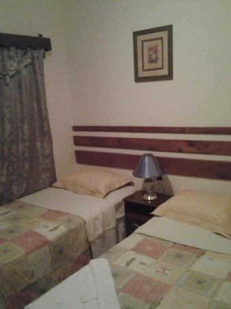 Hotel Graditas Mayas: Una de las habitaciones, la doble para 3 personas
