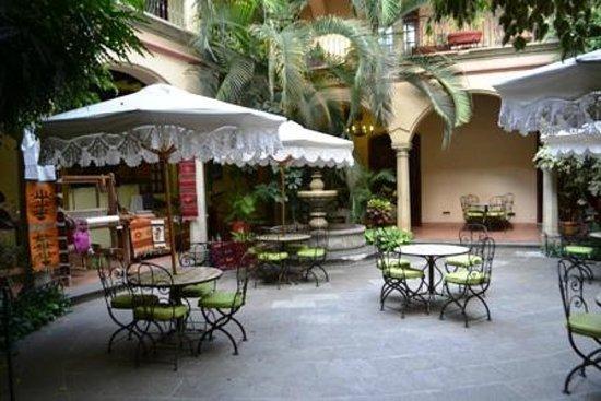 Hotel Boutique Parador San Miguel Oaxaca: patio