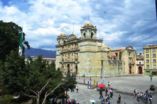 Hotel Boutique Parador San Miguel Oaxaca: cathedral