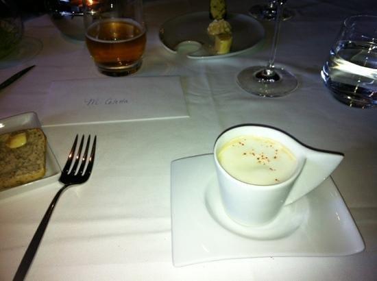 Europea: Lobster Cappuccino