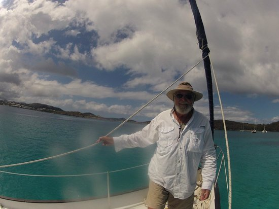 Alaunt Charters day sails: Friendly captain Ron
