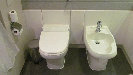 Crowne Plaza Dubai: Toilet