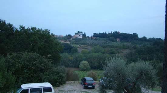 Agriturismo Marciano: Countryside view from our window