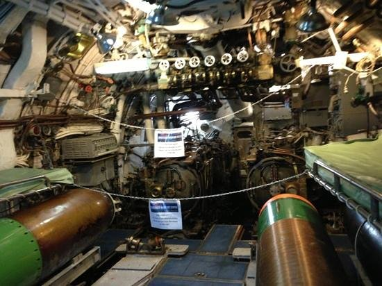 Seawolf Park: forward torpedo tubes
