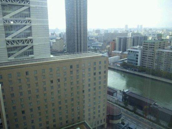 RIHGA Royal Hotel Osaka: 部屋からの眺め
