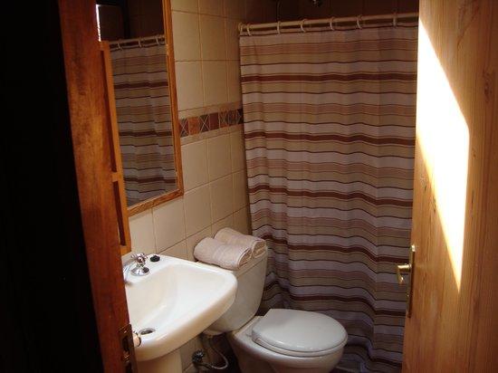 Hotel Kimal: o banheiro