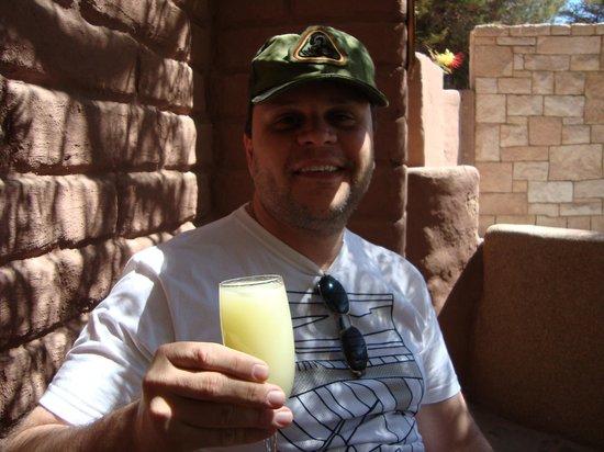 Hotel Kimal: ganhamos 2 bebidas de brindes boas vindas