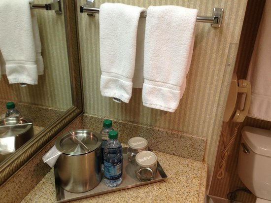 DoubleTree by Hilton Hotel Flagstaff: Complimentary water bottles