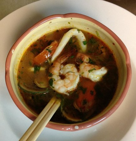 Takeda Thai By Moulay: Tom Yum Goong (seafood) fantastic
