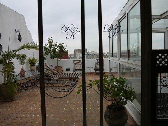 Riad Dar El Kebira : Terrace