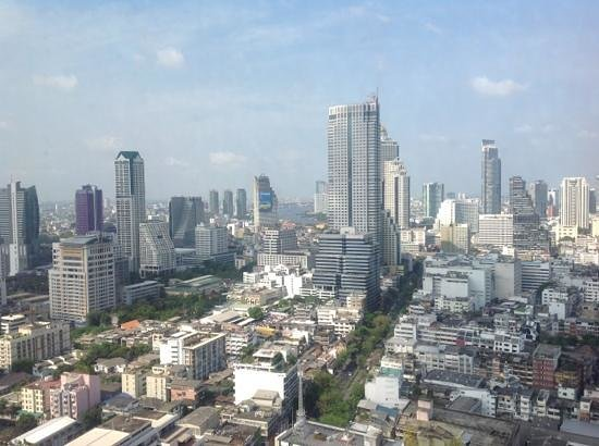 Pullman Bangkok Hotel G: Blick von der  Bar im 37. Stock