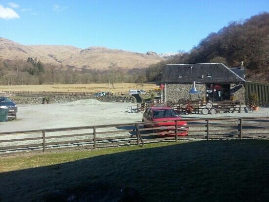 Beinglas Farm Campsite: Awesome views