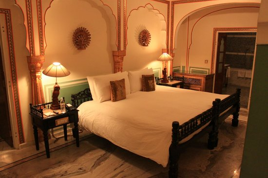 The Raj Palace Grand Heritage Hotel: Our room