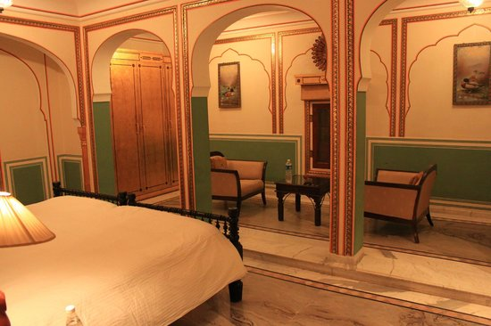 "The Raj Palace: Our room - very nice, but maybe a bit ""cold"""