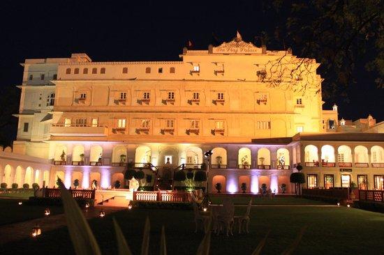 The Raj Palace: The palace