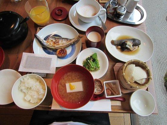 Hyatt Regency Kyoto: Japaness set menu ( include breakfast )