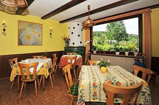 Landhotel Bierhaeusle: breakfast at the Lemon Tree Room
